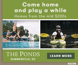 Discover the Ponds in Summerville.